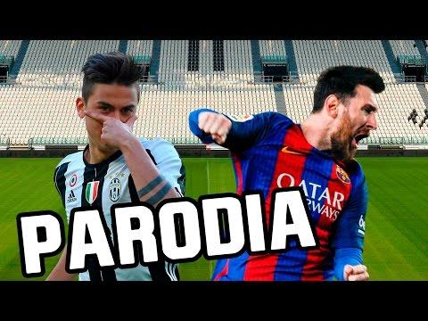 Canción Juventus – Barcelona 3-0 (Parodia Nicky Jam – El Amante) RESUBIDO