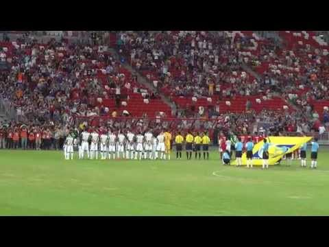2014 Juventus FC Asian Tour: Singapore Selection 0-5 Juventus – players' entrance