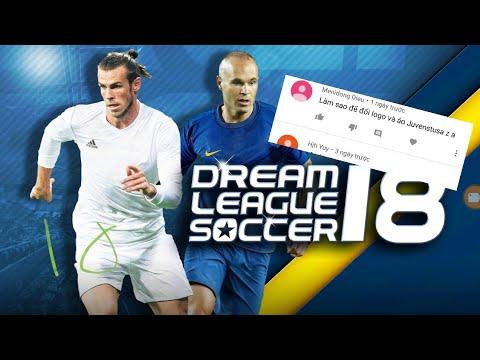 Cách đổi logo trong game Dream legend soccer 2018 | Juventus 2018