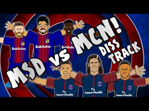 🎤MSD vs MCN – DISS TRACK🎤 [Barcelona vs Juventus 3-0, Celtic vs PSG 0-5 Parody Goals Highlights]
