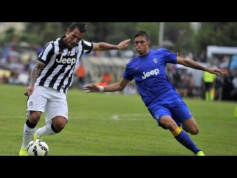 HIGHLIGHTS: Juventus A vs Juventus B – 6-1 – Villar Perosa – 20.08.2014
