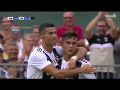 Primer gol de Cristiano Ronaldo con la Juventus / Juventus vs Juventus U21 12/08/2018 HD