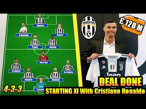 Juventus Dream Team with CRISTIANO RONALDO 2018/2019| Deal Done £ 120 M ft Dybala, Higuain