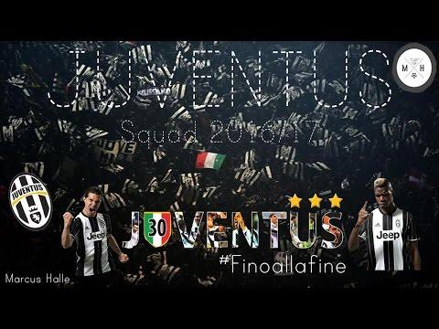 Juventus Squad – 2016/17