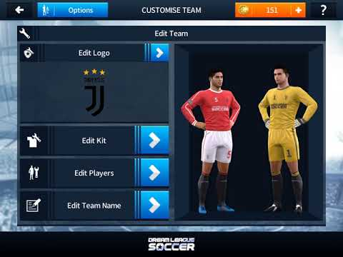 How to import JUVENTUS logo and kits in Dream League Soccer 2018