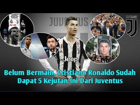 Belum Bermain, Cristiano Ronaldo Sudah Dapat 5 Kejutan Ini Dari Juventus
