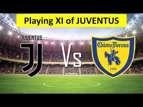 Juventus Possible Lineup 2018 | Juventus vs Chievo 2018