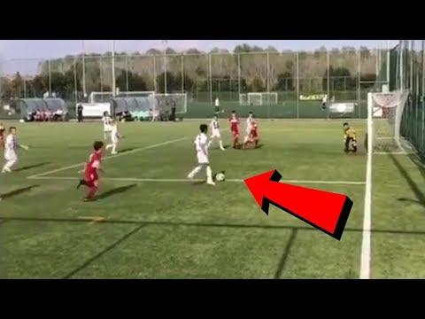 Video: Cristiano Ronaldo Junior – Neues Super-Tor für Juventus U9 !