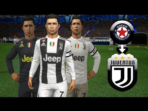6d7356e01  NEW  Make Juventus Kits Logo   Players (2018 19) 🔥 Dream League Soccer  2018