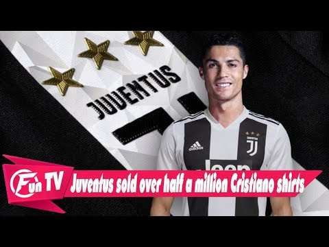 Juventus Sold Over Half a Million Cristiano Ronaldo Jerseys in First 24 Hours