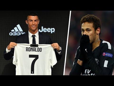 Ronaldo's shirt sales far exceeded Neymar