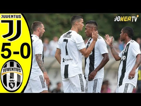 Juventus A vs Juventus B 5-0 – All Goals & Highlights 12/08/2018 HD