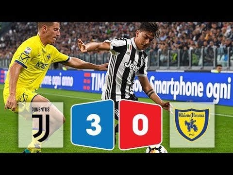 [HIGHLIGHTS & GOALS] Juventus vs Chievo 3-0 ngày 9/9/2017 (Serie A 2017/18)