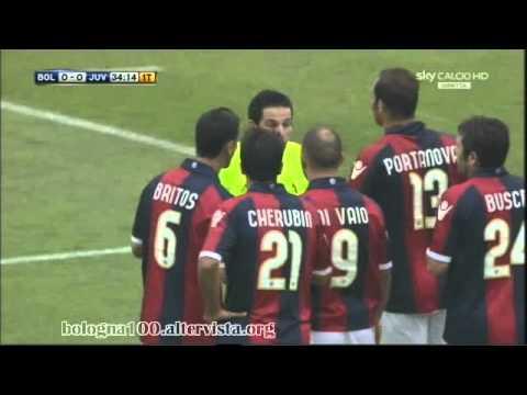 Bologna FC 1909 – Juventus 0-0 24/10/2010 azione rigore su Krasic, confermate 2 giornate al serbo