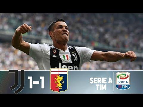 Juventus 1 x 1 Genoa – Melhores Momentos e Gols (HD) – Italiano – 20/10/2018