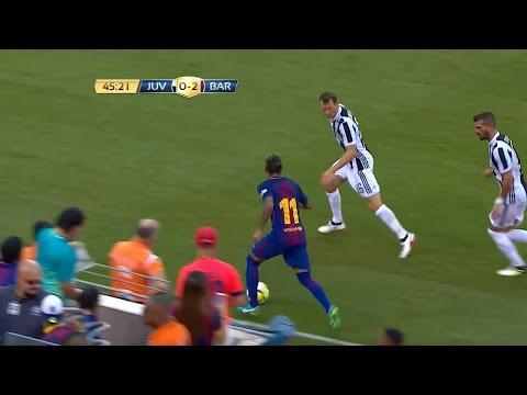 Neymar Jr Destroying Juventus – 22/07/2017 (Juventus vs Barcelona 1-2)