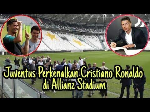 Juventus Perkenalkan Cristiano Ronaldo di Allianz Stadium