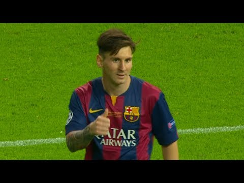 Lionel Messi vs Juventus (UCL Final) 2014-15 English Commentary HD 1080i