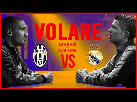 JUVENTUS – REAL MADRID (Feat. Chiara) PARODIA VOLARE [Official Song]
