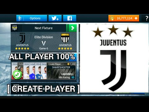 JUVENTUS 2018 – 19 NEW UPDATE | ALL PLAYERS 100% | DREAM LEAGUE SOCCER 2018