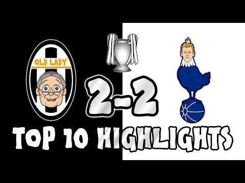 🔟TOP 10 HIGHLIGHTS!🔟 JUVENTUS vs TOTTENHAM 2-2 (Champions League 2018 First Leg Goals Highlights)