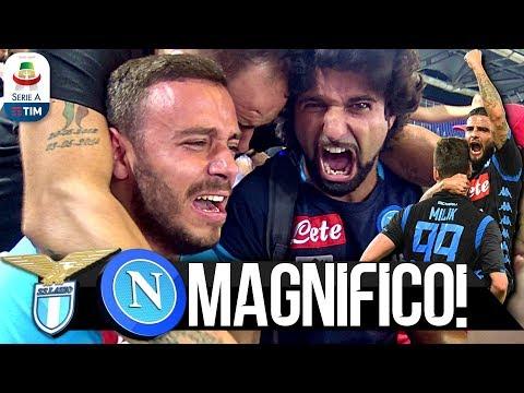 MAGNIFICO!!! LAZIO 1-2 NAPOLI | LIVE REACTION NAPOLETANI STADIO OLIMPICO HD