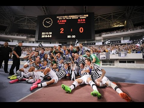 Supercoppa TIM 2015, Juventus-Lazio 2-0 – Italian Super Cup 2015, Juventus-Lazio 2-0