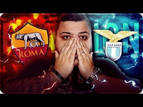 LAZIO 2 – 0 ROMA REAZIONE DERBY COPPA ITALIA !!!
