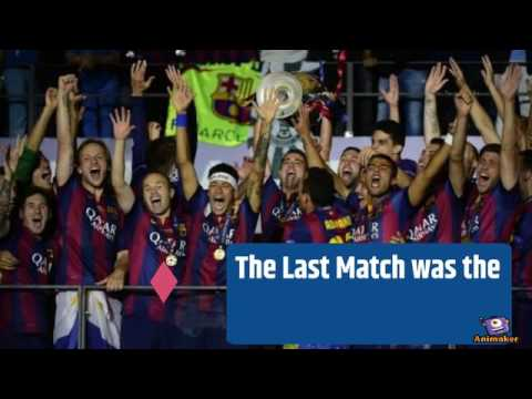 Juventus vs Barcelona Highlights Statistics | Champions League History | Match from 1970 to 2015
