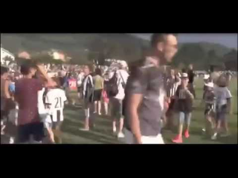 Fans invade the pitch and match is canceled – Juventus vs Juventus B 2-0 Friendly Match 2016