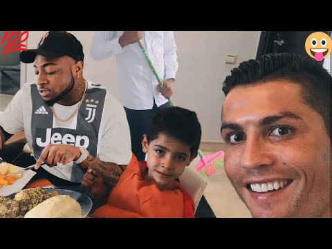 You Won't Believe What Davido Did To Ronaldo After Juventus Transfer