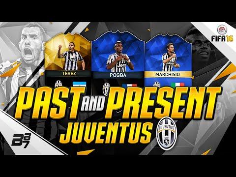 PAST AND PRESENT JUVENTUS SQUAD BUILDER | FIFA 16 Ultimate Team