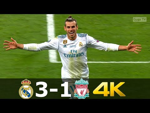 Real Madrid vs Liverpool 3-1 – UHD 4k – UCL Final 2018 – All Goals & Full Highlights