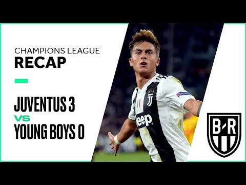 Juventus vs. Young Boys Champions League Group Stage FULL Match Highlights: 3-0