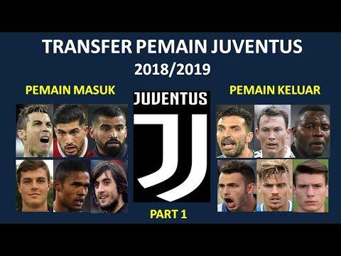 Pemain yang masuk & keluar Juventus di Bursa Transfer 2018/2019
