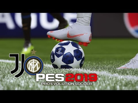 PES 2019 | Juventus Vs Inter Milan