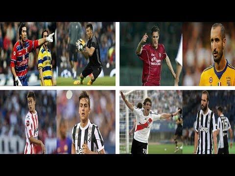 Transformasi 11 Pemain Juventus 2017/2018 Dari Dulu Sampai Sekarang