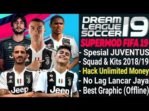 Download Dream League Soccer mod Juventus Kits & Squad Transfer 2018/2019   Unlimited Money FIFA 19