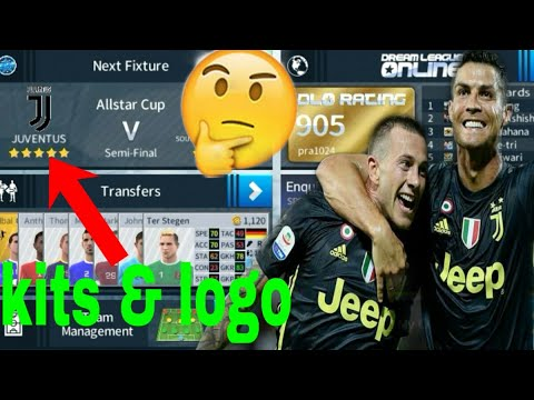 How to make Juventus new Kits & Logo 2018/19 | Dream League Soccer 2018