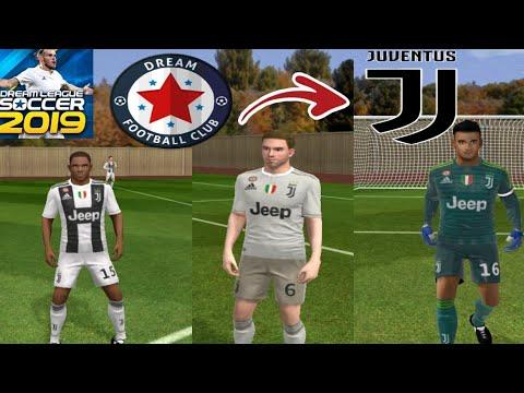 Juventus Kit 2018-2019 And Logo – Dream League Soccer 2019