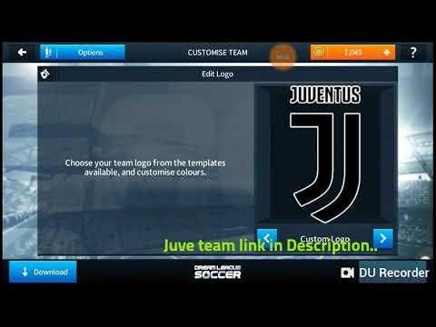 Juventus Team in Dream League Soccer 2018.
