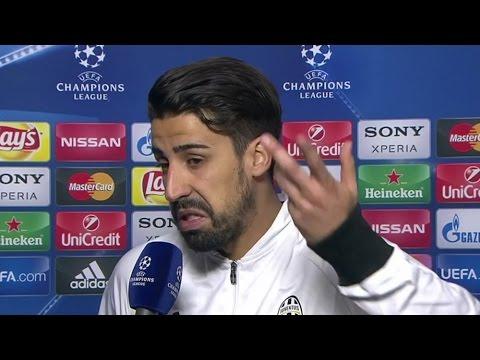 Juventus 2-2 Bayern Munich – Sami Khedira Post Match Interview