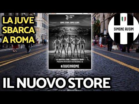 Arriva il nuovo Juventus Store a Roma ||| Speciale Avsim