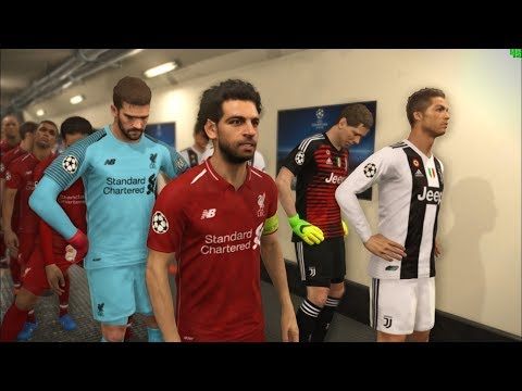 JUVENTUS vs LIVERPOOL I New Kits Season 2018/19 I PES 2018 Gameplay