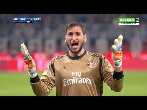Gianluigi Donnarumma vs Juventus (Home) 2016-2017 HD 720p (DOWNLOAD IN DESCRIPTION)