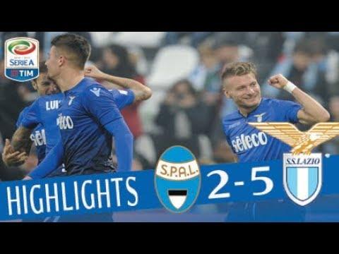 SPAL – Lazio 2-5 – Highlights – Giornata 20 – Serie A TIM 2017/18