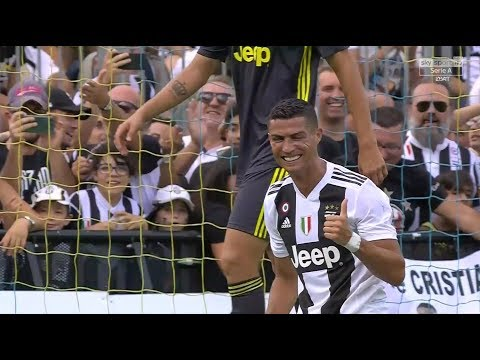 Cristiano Ronaldo Debut vs Juventus B (12/08/2018) HD