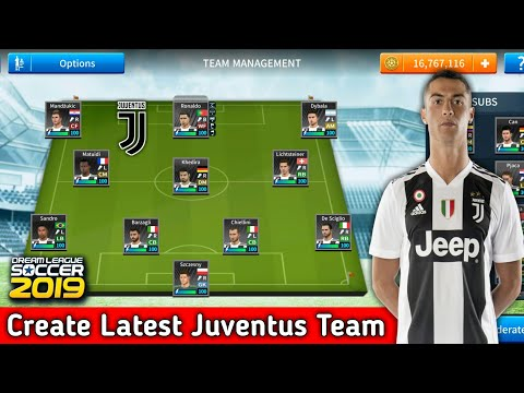How To Create Juventus Team In Dream League Soccer 2019 | Android [No Root & No Mod Apk]