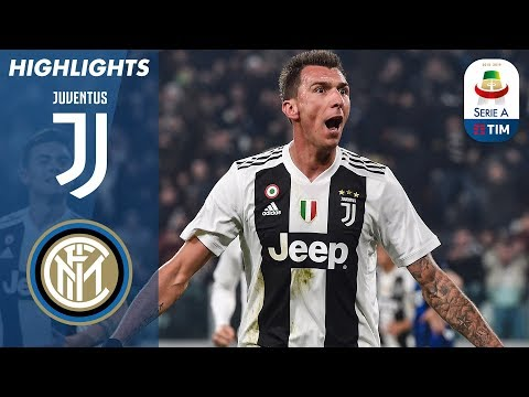 Juventus 1-0 Inter | Mandžukić Header Seals Win for Juventus | Serie A