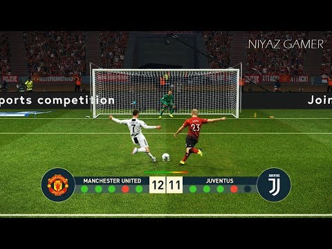 MANCHESTER UNITED vs JUVENTUS FC | Penalty Shootout | PES 2019 Gameplay PC